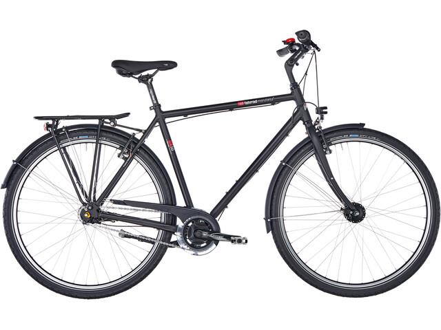 vsf fahrradmanufaktur T-50 pyörä Vinoneliö Nexus 7-vaihteinen Jalkajarru , musta